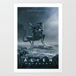 Alien Covenant Hot Movie Silk Canvas Poster Wall Art Home Decor Print 32X48 inch1 Art Print