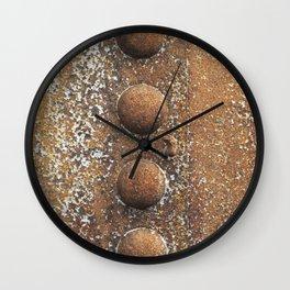 Rivet heaven Wall Clock