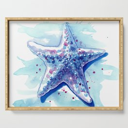 Starfish Waters I Serving Tray