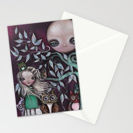 Night Creatures Stationery Cards