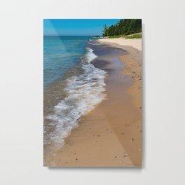 Lake_Michigan Beach, Charlevoix - II Metal Print