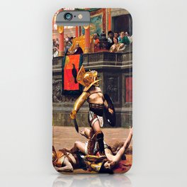Thumbs Down - 1872 iPhone Case