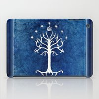 tolkien iPad Cases featuring The White Tree by Jackie Sullivan