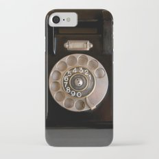OLD BLACK PHONE iPhone 7 Slim Case