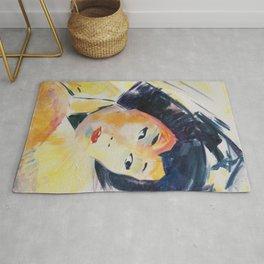 Geisha - Art by Vanessa Mancini Rug
