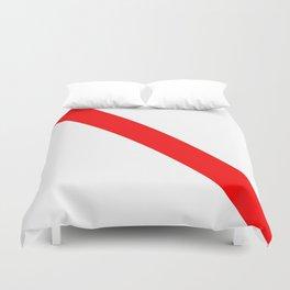 flag of strasbourg Duvet Cover