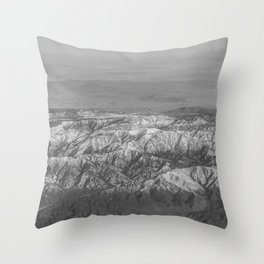 The Great Rockies Throw Pillow