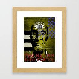 UNDER CONTROL Framed Art Print