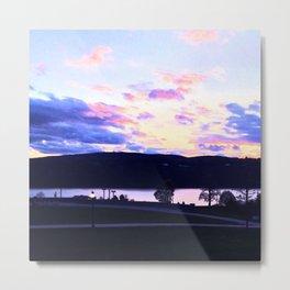 Hudson Sunet  Metal Print
