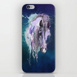 Purple Horse iPhone Skin