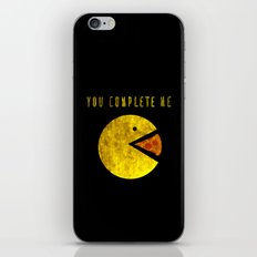 You Complete Me iPhone & iPod Skin