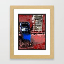 unsafe deposit Framed Art Print