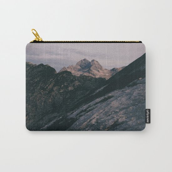 Triglav at sunrise Carry-All Pouch