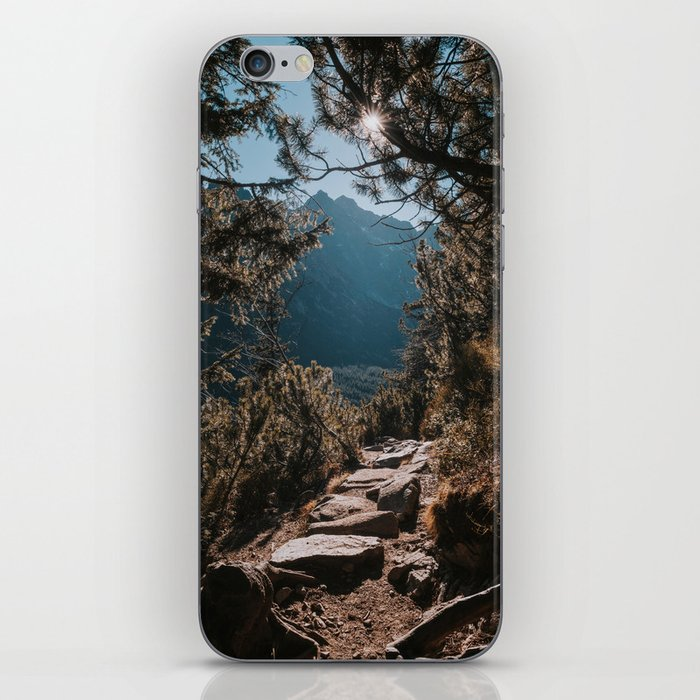 On the trail - Landscape and Nature Photography iPhone Skin