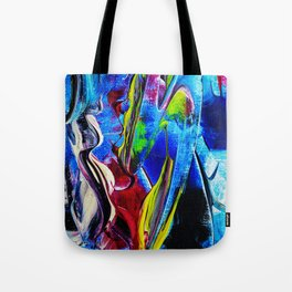 Abstract in acrylic Tote Bag