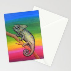 Chameleon (2) Stationery Cards
