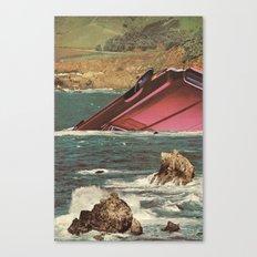 flotsom Canvas Print