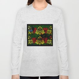 Amo y Besos Symmetrical Art Long Sleeve T-shirt