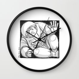 Can I come down? Wall Clock