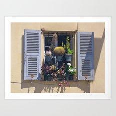 Nice Window Art Print