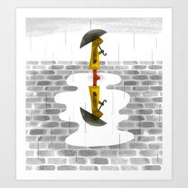 Gloomy Perspective Art Print