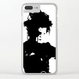 Edward Scissorhands Clear iPhone Case