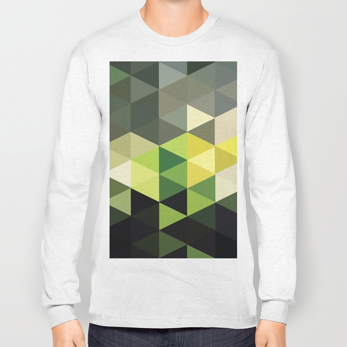 Another Touch Of Green Long Sleeve T-shirt