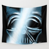 returns Wall Tapestries featuring Anakin Returns by TLCreations