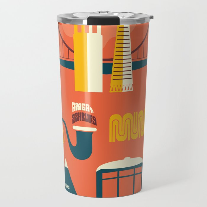 Sanfrancisco Travel Mug