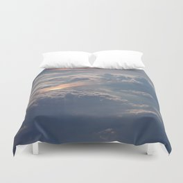 Looking Down from Heaven Duvet Cover