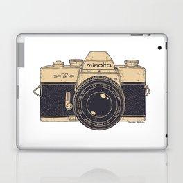 Minolta Vintage Camera Laptop & iPad Skin