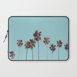 palm trees turquoise Laptop Sleeve