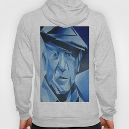 Cubist Portrait of Pablo Picasso: The Blue Period  Hoody
