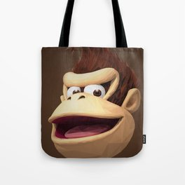 Triangles Video Games Heroes - Donkey Kong Tote Bag