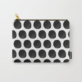 Cut Paper Polka Dots Carry-All Pouch