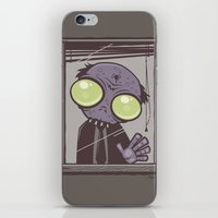 the office iPhone & iPod Skins featuring Office Zombie by John Schwegel