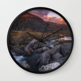 (RR 299) Snowdonia - Wales - UK Wall Clock