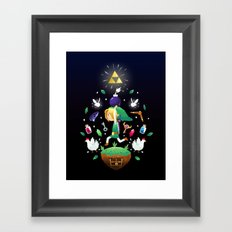 The Hero Of Time Framed Art Print