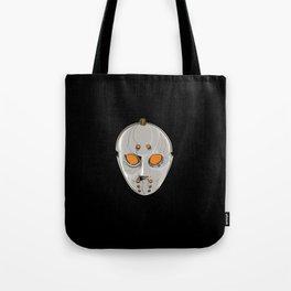 Hockey Goalie Mask Tote Bag