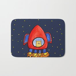 Impossible Astronaut Bath Mat