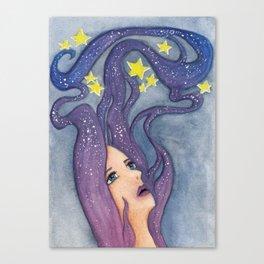 Galaxy Dreamer Canvas Print