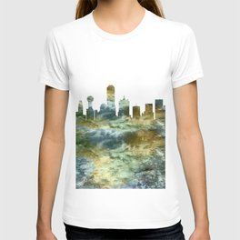 Dallas Skyline Texas T-shirt
