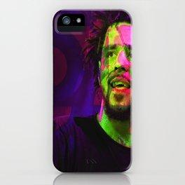 J Cole Hip Hop iPhone Case