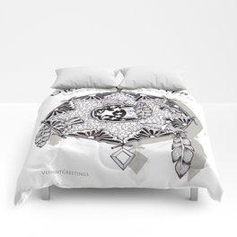 Zentangle Dreamcatcher Comforters