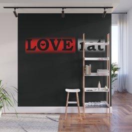 love rat Wall Mural