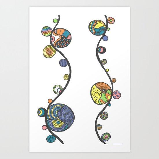 Viney Marbles Art Print