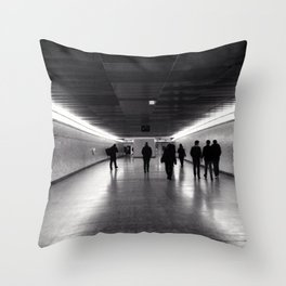 Journey from Stratford Throw Pillow