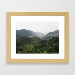 Himilayan Fog Framed Art Print