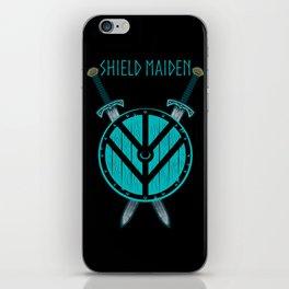 Viking Shield Maiden Badass Woman Warrior iPhone Skin