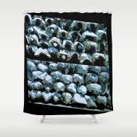 faith Shower Curtains featuring Faith by dominiquelandau
